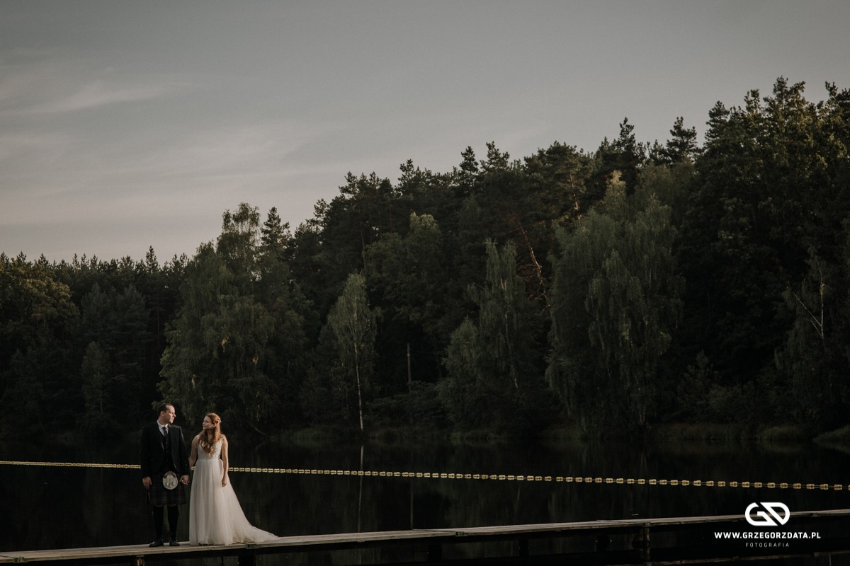Beata i Mark  - ślub polsko- szkocki. Fotograf Tarnów 105