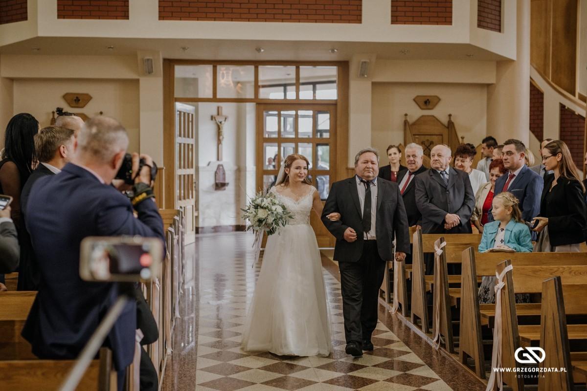 Beata i Mark  - ślub polsko- szkocki. Fotograf Tarnów 11