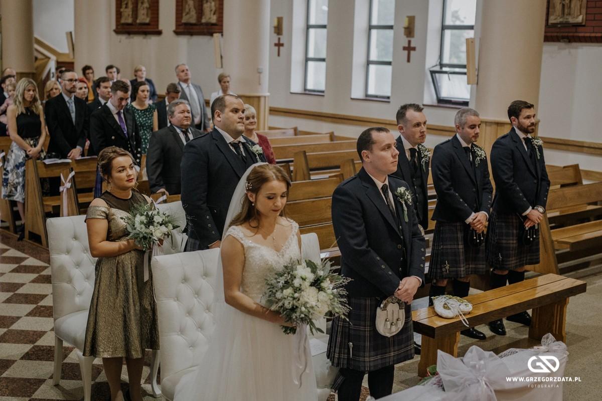 Beata i Mark  - ślub polsko- szkocki. Fotograf Tarnów 14