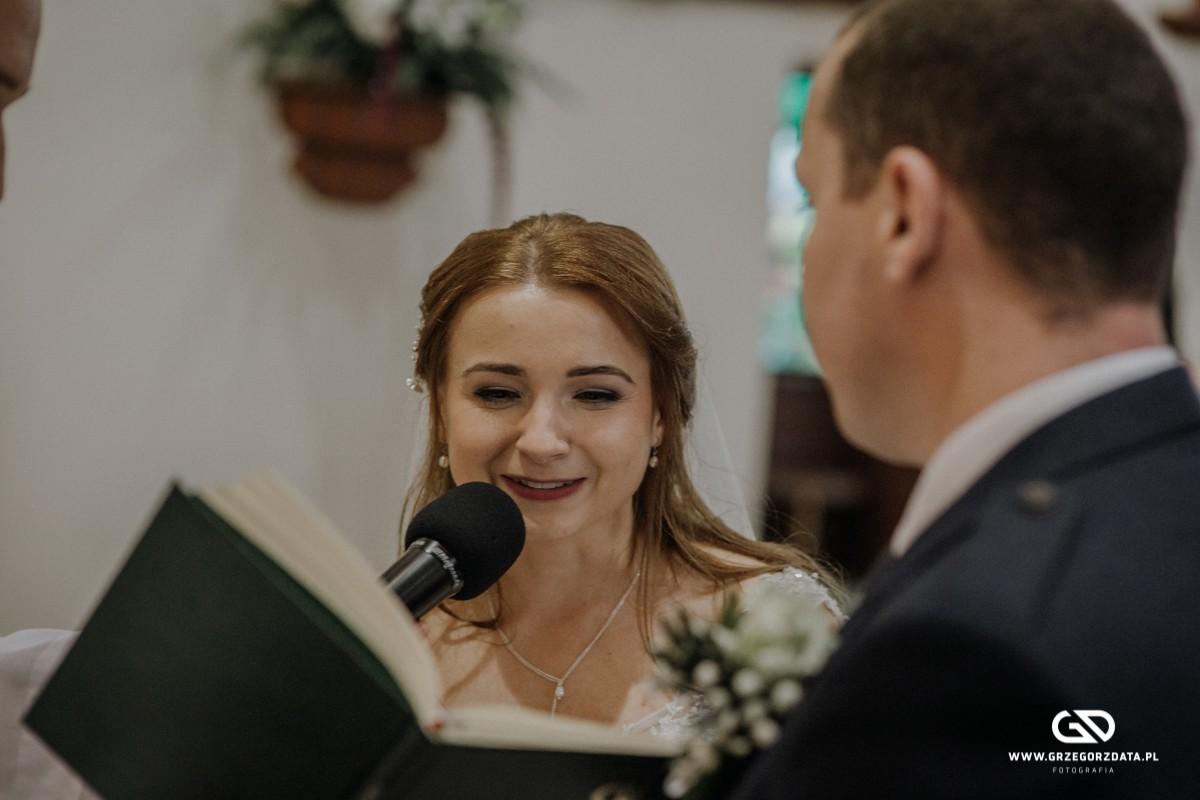 Beata i Mark  - ślub polsko- szkocki. Fotograf Tarnów 23