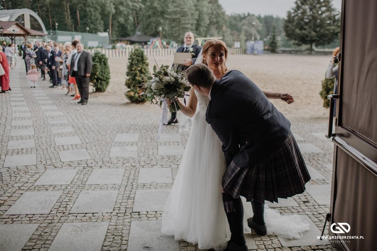 Beata i Mark  - ślub polsko- szkocki. Fotograf Tarnów 40
