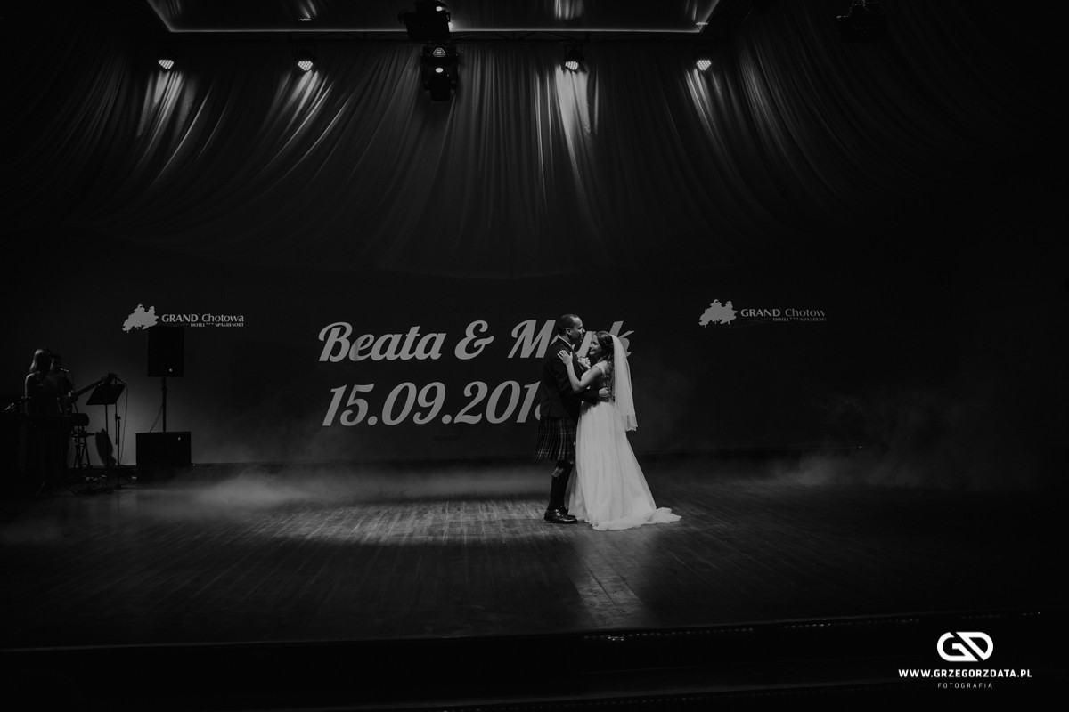 Beata i Mark  - ślub polsko- szkocki. Fotograf Tarnów 51